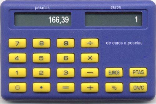 calculadora euros pesetas